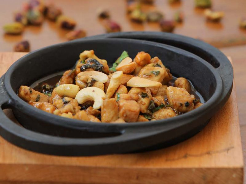 Chicken Ras Asfour with Cashew Nuts