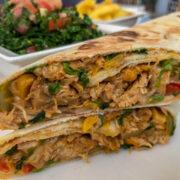 The Chicken Mozzarella Wrap